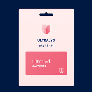 Gavekort ultralyd - Uke 11 - 14