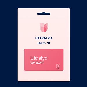 Gavekort ultralyd - Uke 7 - 10